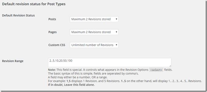 Revision Controlの設定